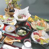【ちょっと贅沢2食付・竹コース】夕食充実!温泉&山のグルメで心と体を満たす