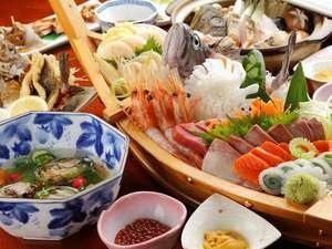 新生大人気♪【生うに丼+豪華舟盛り+あわび付】2017海鮮プラン♪≪1泊2食付≫