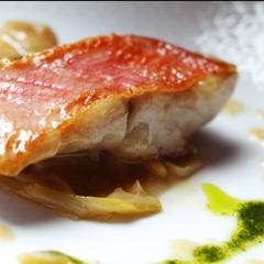 【地魚のポアレが好評♪】 創作洋食フルコースプラン [1泊2食]