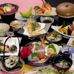 【お料理グレードUP!】新鮮海の幸たっぷり♪2食付き