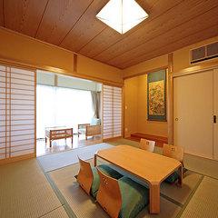 Aタイプ【露天風呂と檜の内湯が付いた平屋造りの離れ客室】
