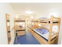 エコノミー6名個室 2段ベッド3台