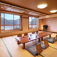 <池ノ内湖側‐大部屋>8名まで宿泊可!トイレ付/禁煙