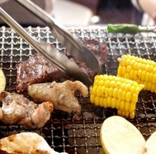 【ジビエ BBQ】食材&道具 貸出無料♪手ぶらでバーベキュー 身軽で楽しい 1泊2食付