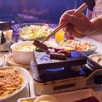 ステーキ肉とブッフェが自慢☆アルコール飲み放題も付いた当館のオススメ!/2食+フリードリンク付プラン