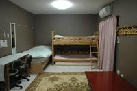 【207号室】6人部屋★グループでわいわい泊まれます★