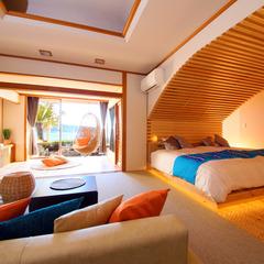 デザイナーズスイート【80平米】◆露天風呂+檜内風呂◆