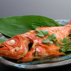 【自慢の逸品】金目鯛の煮つけが付いた『プチ贅沢』な会席料理プラン♪