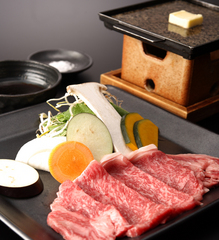 【佐賀牛A5等級100g】陶板ステーキ会席