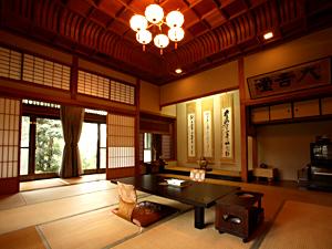 ■無料貸切露天風呂付き『鍋島藩ゆかりの別邸内庫所:貴賓室』