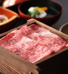 佐賀牛A5等級(100g)と地元旬野菜の源泉セイロ蒸し会席:ポイント2倍
