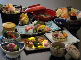 【定番】海の見える貸切露天風呂deゆったりプラン☆新鮮な海鮮料理を個室食事処でお楽しみください☆