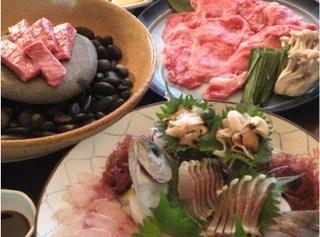 (*'▽')「美味♪ メインは日本一平戸和牛と定置網朝獲れの海の幸」