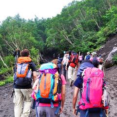 【自然派☆1泊3食付き】霧島de登山&トレッキング!大自然に囲まれて楽しむ《おにぎり弁当》付き