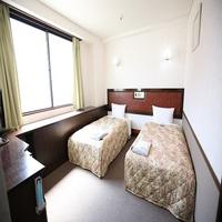 【禁煙室】ツインルーム(2名部屋)■広さ16平米