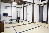【喫煙】 和室 10.5畳(6+4.5)