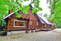 【1泊2食付】お手軽BBQ+朝食プラン!!◆ログコテージ宿泊で自然を満喫!◆
