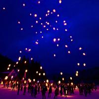 【スカイランタンイベント】はなまき星めぐりの夜と花巻温泉のバイキング(1月・2月限定)