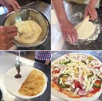 【ピザ作り体験付】本格石窯を使った焼きたてピザが楽しめる★和洋バイキング&湯めぐり満喫