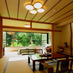 【A】谷川岳向き源泉かけ流し露天風呂付/和室10畳+4.5畳