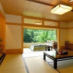 【基本プラン】谷川岳を臨む!源泉100%露天風呂付き客室〜1cm単位でこだわる絶景への想いと秘密〜