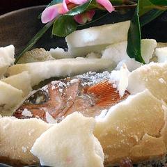 海鮮手巻き寿司&高級常陸牛に塩釜焼き!ボリュームたっぷりファミリープラン☆水族館割引券あります♪