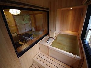 源泉掛流し露天風呂付客室【今心亭】99平米+御風呂テラス