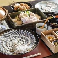 【ご夕食レストラン】 本場下関のとらふくフルコース
