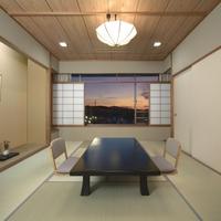 【本館 お食事楓テラス】 10畳以上の和室又は和洋室