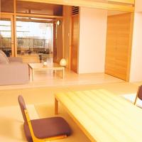 【お食事楓テラス 花椿】露天風呂付客室(温泉)和室