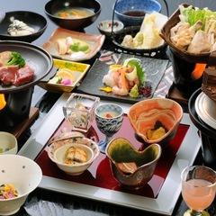 【スタンダードプラン】八重桜会席★さくら亭一番人気☆新潟と魚沼の美味さぎっしり♪海と山の幸を堪能♪