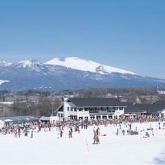 【佐久スキーガーデンパラダ】×【リフト券付】≪2食付≫ゲレンデと温泉で冬を愉しむ♪夕食はブランド肉♪