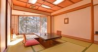 【樹林棟】お部屋の中央に堀のある和室(ゆったり広縁付)