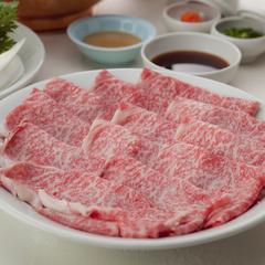 【牛しゃぶしゃぶプラン】お口に広がる風味 繊細な肉のうま味を味わう!
