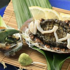 【贅沢三昧】アワビ・伊勢海老・金目鯛付き磯会席プラン(2食付)