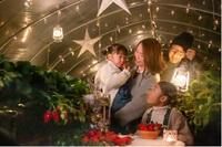 【ストロベリーナイトプラン】グランピングドームテントでくつろぐ グランピングディナー&モーニング