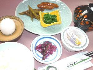 <簡単×朝食付>ごはんはおかわり自由!品数控え目でリーズナブルなお手軽朝食
