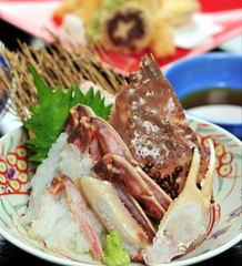 〔プレミアム〕冬の贅沢を味わい尽くす!松葉ガニを贅沢に三杯も!!温泉と蟹「松葉がにフルコース」