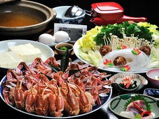 〔かにすき〕山陰の冬といえば●vカニv●日本海の冬を美味しく楽しむかにすき鍋コース
