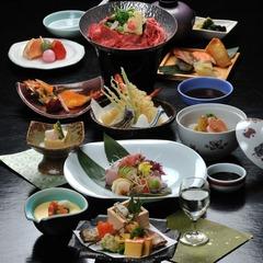 ≪5月限定≫見つけたあなたはラッキー☆1日3組限定☆ボリューム満点!季節の会席料理「松」コース