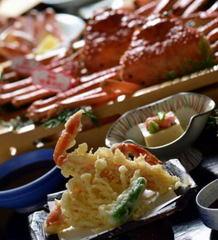 ◆タグ付松葉ガニ1枚付◆ズワイガニのフルコース …あらゆるカニ料理が満載です