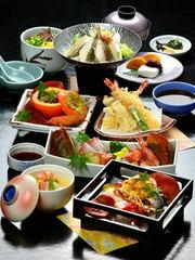 OPEN45周年特別宿泊プラン!季節の会席料理「竹」コース