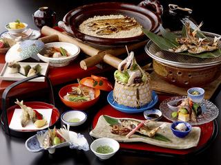 【特選料理】長良川天然鮎づくし料理プラン