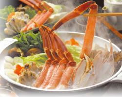 冬の味覚を満喫!大満足!ずわい蟹(2.5杯)フルコースプラン