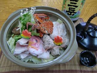 近海地魚の海鮮鍋プラン(2食付)♪【冬得】