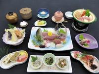 山と海に囲まれた松崎の郷土を味わう!【田舎料理プラン】