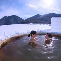 【しかりべつ湖コタン★1ドリンク付】月夜の氷上露天風呂がおすすめ!