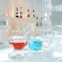 【しかりべつ湖コタン★氷のグラスづくり&1ドリンク付】自分で作った氷のグラスで飲む一杯は最高!