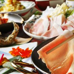 【ゆっくり味わい豚しゃぶ膳】十勝産豚2種類食べ比べ&郷土の味