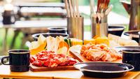 【1日3組限定】大人気のグランピング☆基本キャンプアイテム&夕食BBQ食材&朝食付き!(1泊2食)